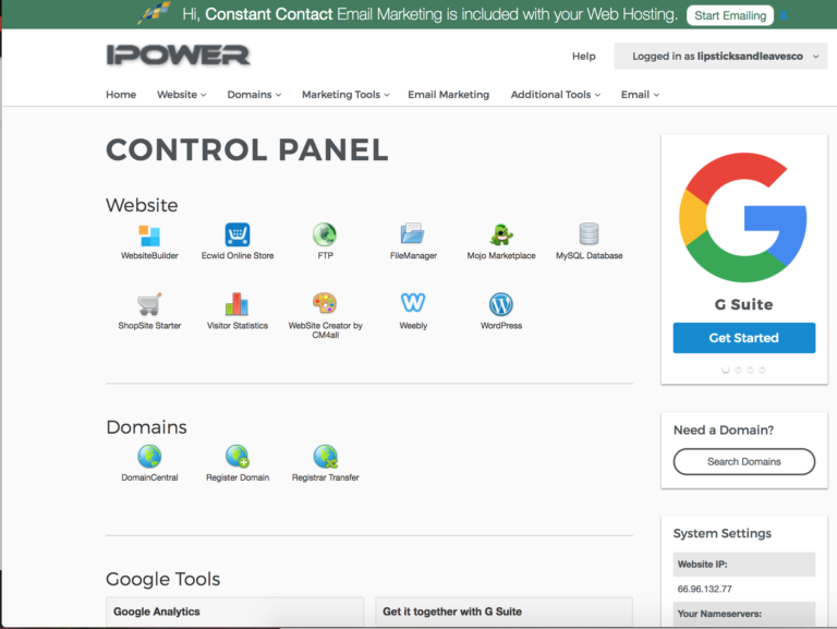 iPower-Control-Panel-for-Best-Web-Hosting