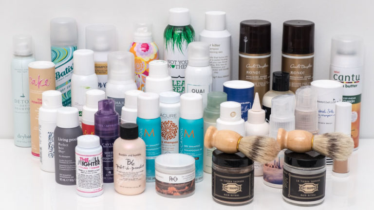 Finalists for Dry Shampoo