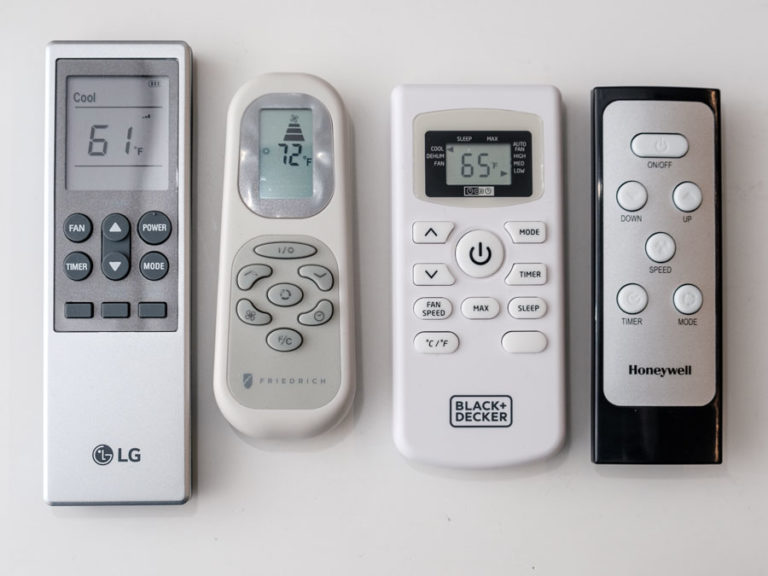 Remotes for Portable Air Conditioner