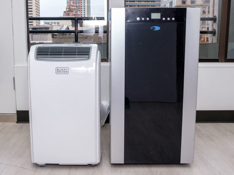 Size Comparison for Portable Air Conditioner