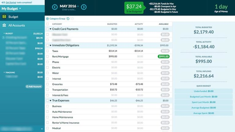 the best personal finance software for 2018 reviews com