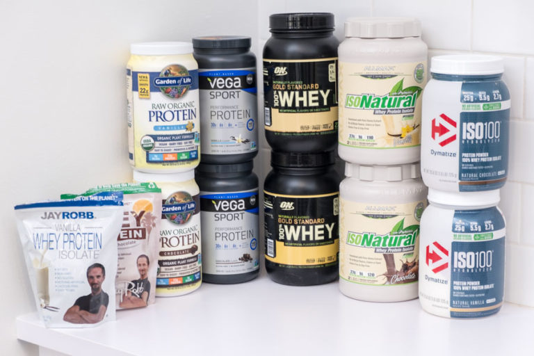 Finalists for Protein Powder