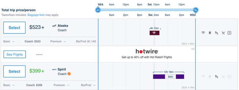 Airfare-Draft-Hipmunk-unique-display-grid-for-Airfare
