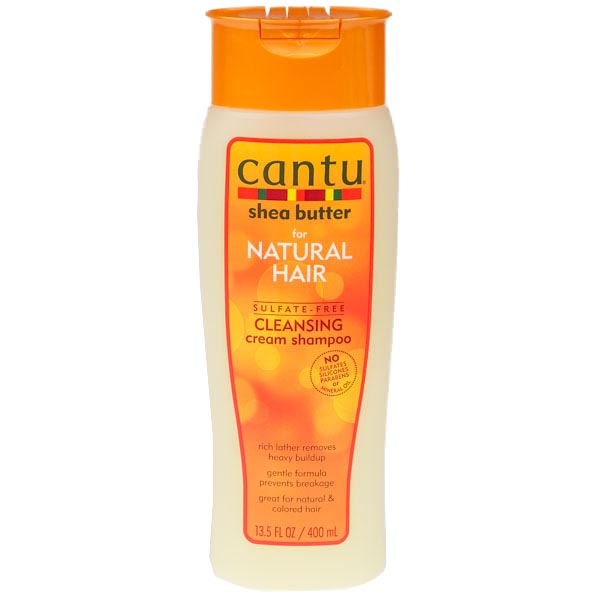 Cantu Shea Er For Natural Hair Sulfate Free Cleansing Cream Shampoo