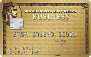 The Business Gold Rewards® Card from American Express OPEN