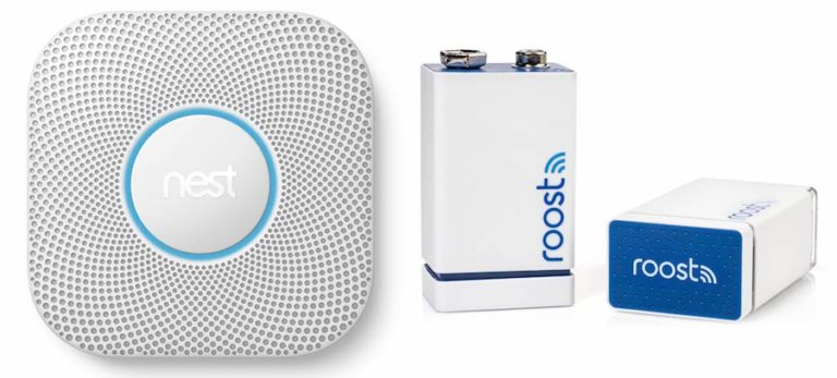 Nest Protect and Roost for Smart Smoke Detectors