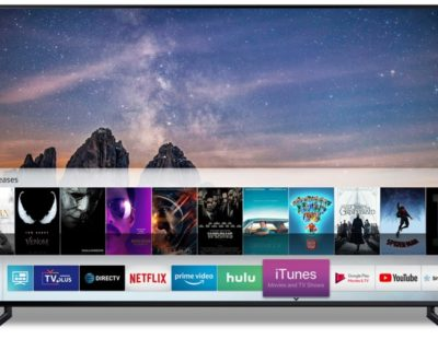 Samsung Smart TVs to Support Apple iTunes Starting Spring 2019
