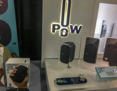 More Air = More Bass with POW's Expandable Speaker