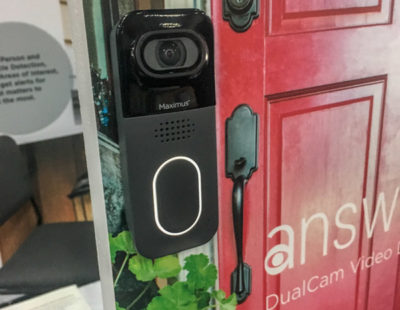 An Industry First: Maximus Brings Dual Camera Doorbell to CES