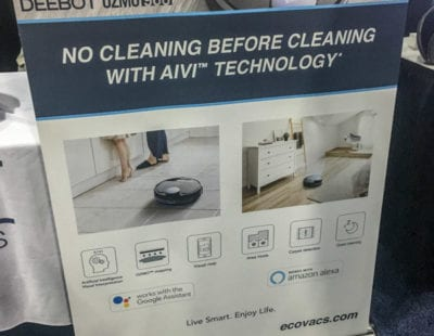 "Ecovac's Deebot Ozmo 960: The First ""Truly"" AI-Powered Robovac"