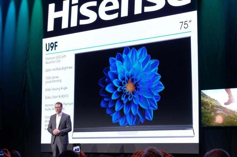 CES 2019 Liveblog: Hisense News Conference - Reviews com