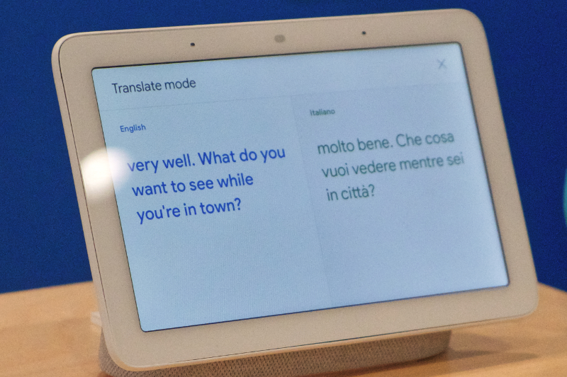 Google Makes the World a Smaller Place with Interpreter Mode