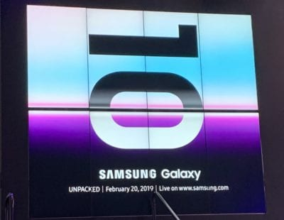 Samsung Teases Feb. 20th Unveiling of its Next Galaxy Smartphone