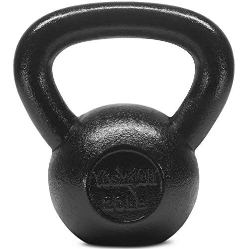 Yes4All Solid Cast Iron Kettlebells