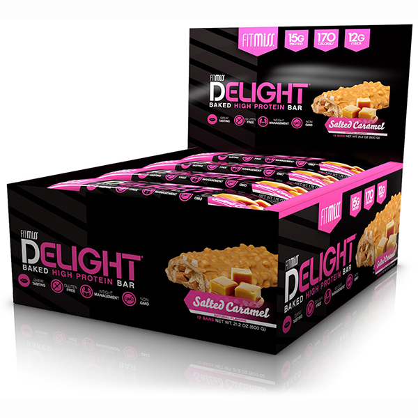 FitMiss Delight Bar Salted Caramel
