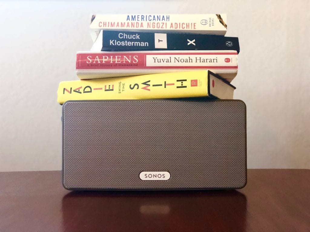 Sonos Speaker as Bookshelf