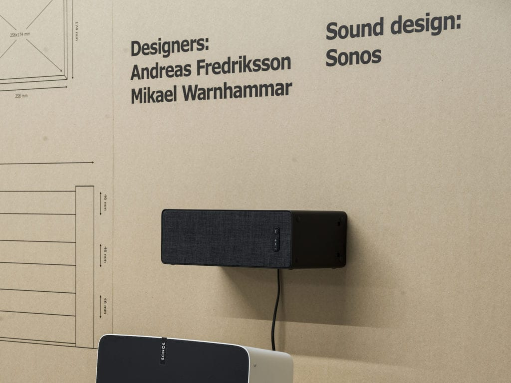 IKEA and Sonos SYMFONISK Prototype