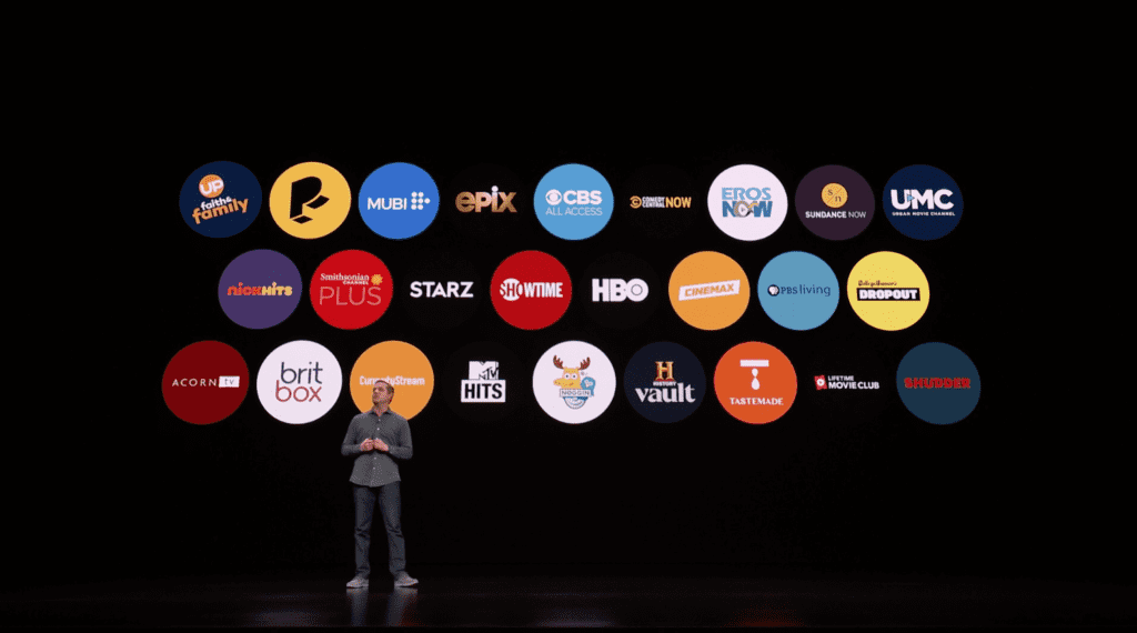TV Channels for Apple