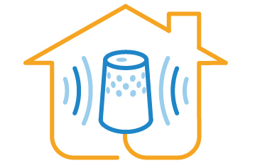 Smart hubs act as the brain of the smart home.