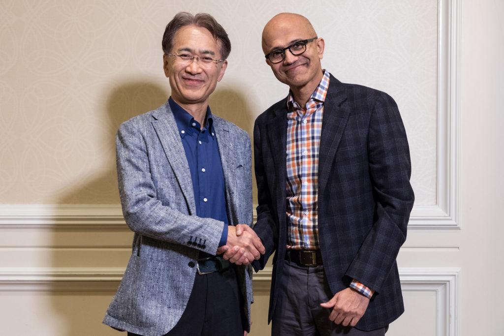 Sony-Microsoft-partnership