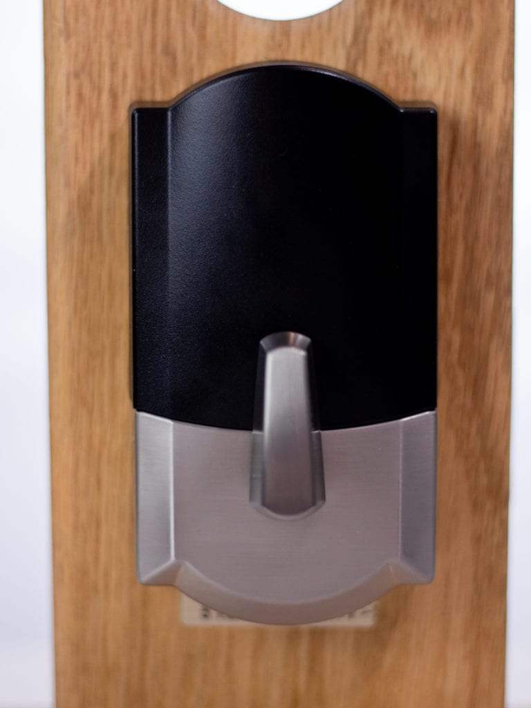 Schlage Encode smart lock bolt