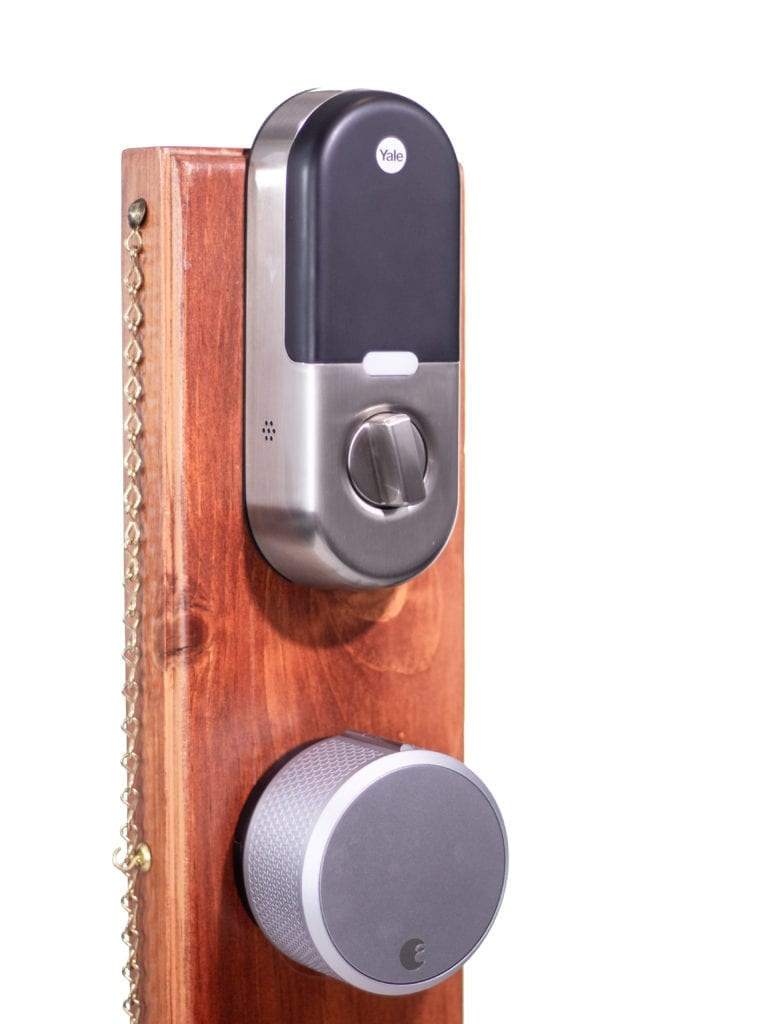 Yale and August smart locks