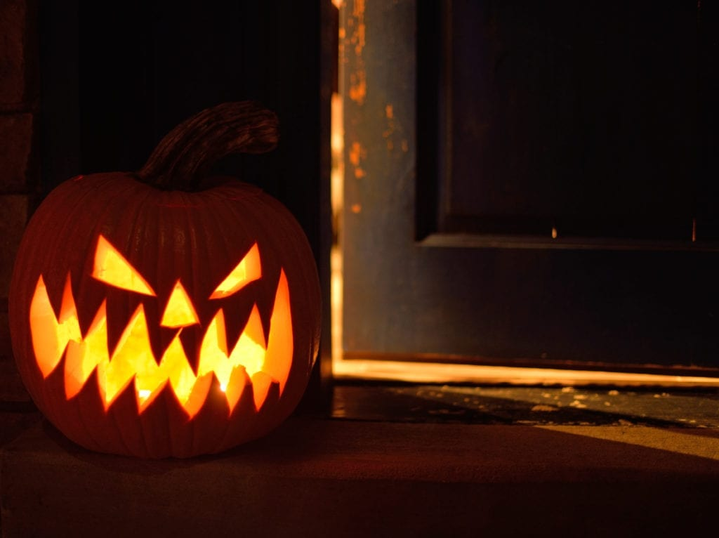 Keep your home secure on Halloween.
